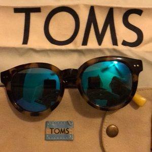 TOMS Mirrored Lens Sunglasses